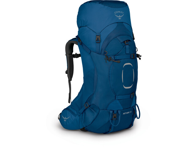 Osprey Aether 55 Backpack, deep water blue